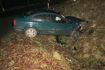 Dopravní nehoda na katastru obce Mistrovice.