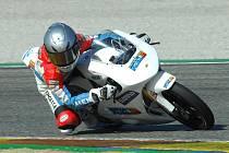 Prvních oficiální testy motocyklu FGR 250 GP ve Valencii.