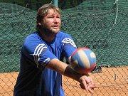 Trenér české volejbalové reprezentace Lubomír Vašina.