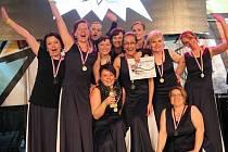 Ženy z Taneční školy Česká Třebová jsou nositelkami titulu Mistři Čech.