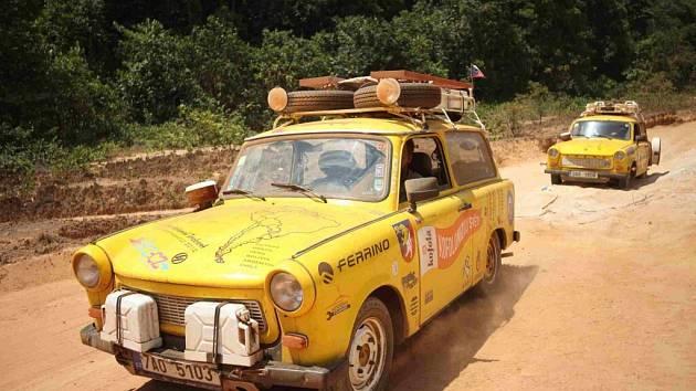 Z cest trabantem napříč Jižní Amerikou.