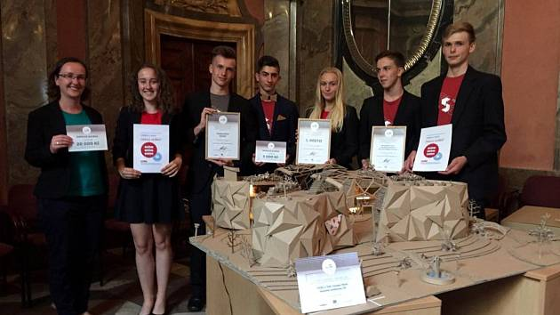 Studenti mýtské stavební školy vyhráli v celostátní soutěži hned dvakrát.