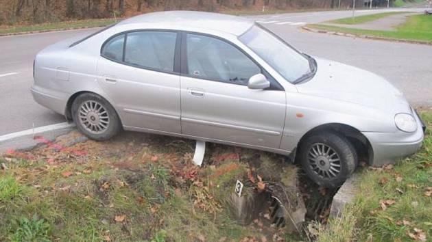 Havárie v Ústí nad Orlicí.