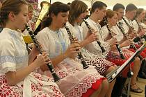 Vysoké Mýto o víkendu žilo národní přehlídkou dětských dechových orchestrů.