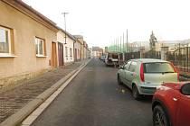 Dopravní nehoda v Komenského ulici v České Třebové.