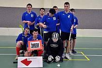 Zástupci učiliště ze Žamberka uspěli na florbalovém turnaji.