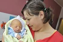 Jaroslav Vaňous je prvním dítětem Jany a Jaroslava Vaňousových z Horních Libchav. Chlapci v ústecké porodnici 30. 5. v 9.42 hodin navážili 3,2 kg.