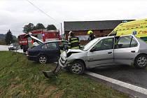 Dopravní nehoda v Damníkově