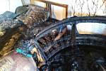 Požár bytu v Lanšrouně