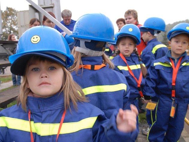 Z Festivalu přípravek mladých hasičů v Chocni.