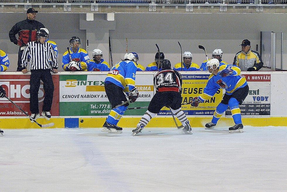 Z nedělního utkání mezi Č. Třebovou a Lanškrounem.