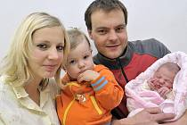 Kristýna Kapounová je po Terezce druhou dcerou Jitky a Jindřicha Kapounových z Dolní Dobrouče. Narodila se 10. 1. ve 3.58 hodin s váhou 3,38 kilogramu.