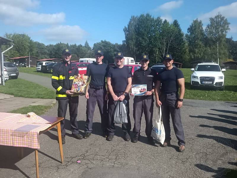 Na přehradě Pastviny se konalo v sobotu mistrovství v záchraně na vodě.