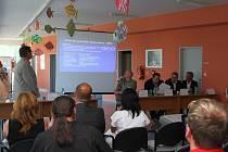 Ze setkání se starosty měst a obcí v Orlickoústecké nemocnici.