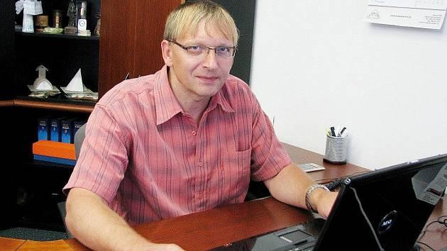MIROSLAV ŠVESTKA, starosta Červené Vody.