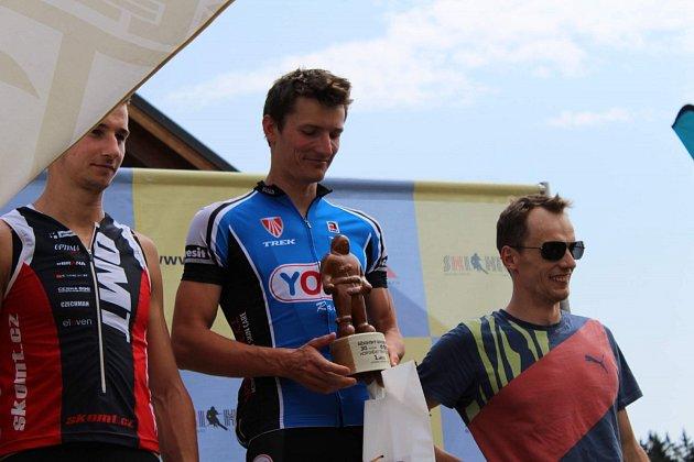 Triatlonista Petr Soukup vyhrál Říčkovský golem pošesté v řadě.