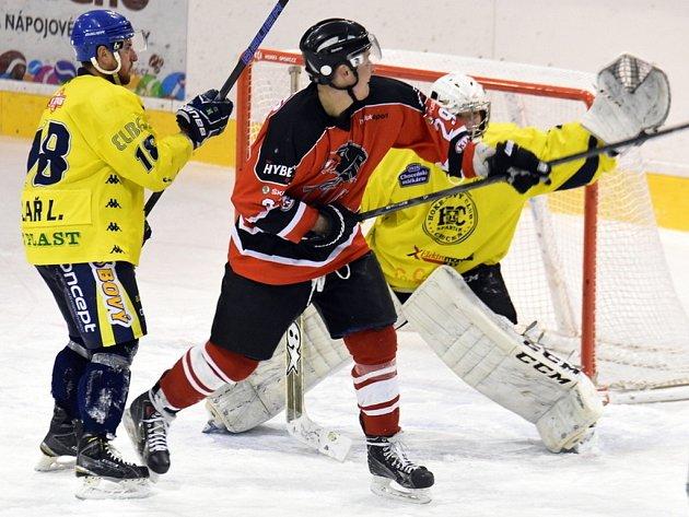 Krajská hokejová liga: HC Spartak Choceň - HC Chrudim.