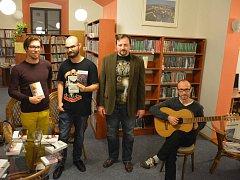 Zleva: Lukáš Vavrečka, Přemysl Krejčík, Martin Vídenský a Jaroslav Moravec.