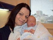 Kryštof Štrébely je dalším dítětem Veroniky a Jana ze Srubů. Na svět přišel 29. 11. ve 3.37 hodin, kdy vážil 3,580 kg. Sestřička se jmenuje Anetka.