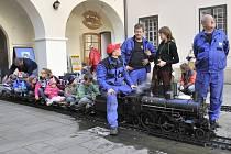 Sičova drobná železnice v Chocni.