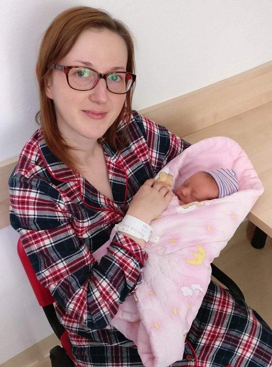 Nina se narodila Vendule a Janovi  Kroulíkovým ze  Sloupnice 1. 11. v 17. 24 hodin.