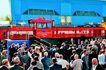 Ruské veřejnosti se nová lokomotiva TMX 001 představila poprvé vloni na zářijovém specializovaném mezinárodním železničním veletrhu EXPO 1520 v Moskvě–Ščerbince. Zájem o ní byl značný.