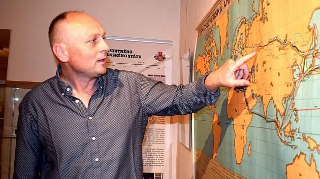 Ředitel vysokomýtského Regionálního muzea Jiří Junek.
