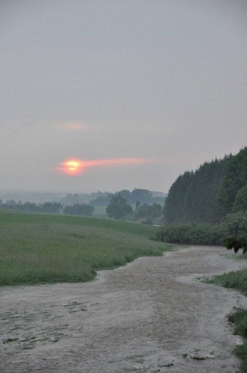 Velká voda v Sudslavě.