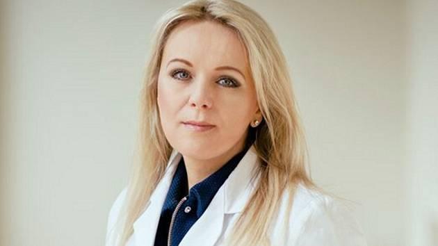 Michaela Tomanová, primářka Rehabilitačního ústavu v Brandýse nad Orlicí.