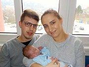 Jakub Petr je prvorozený syn Veroniky Gábrišové a Adama Petra z České Třebové. Narodil se s váhou 3800 g dne 8. 11. v 10.51 hodin.