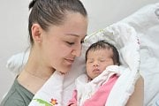 Alžběta Počtýnská, tak pojmenovali prvorozenou dceru Aneta a Martin z Chocně. Holčička poprvé spatřila světlo světa 13. 2. v 3.11.