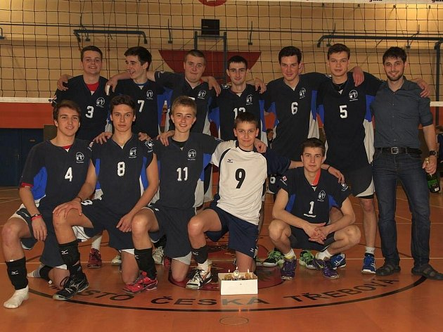 Vítězové první volejbalové ligy juniorů
