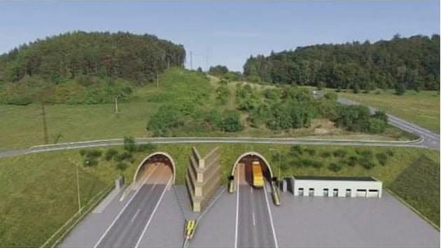 بزرگراه D35 Ostrov - Vysoké Mýto پل همول را به هم متصل می کند