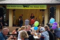 Letní hudební festival na Žampachu 2013.