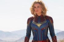 Kapitánka Brie Larson v titulní roli komiksového dobrodružství.