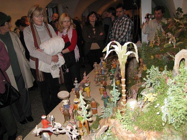 Z výstavy betlémů v Lanškrouně.