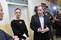 Ministr školství Marcel Chládek na návštěvě Výchovného ústavu v Králíkách, kde chovanci brutálně napadli dva vychovatele.