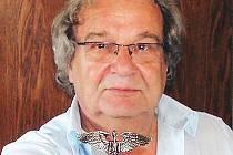 Legenda českého bigbítu a rocku Jan Farmer Obermayer.