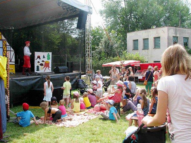 Orlická brána oslavila desáté narozeniny i s dětmi.
