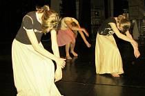 Krajská postupová přehlídka dětských skupin scénického tance.
