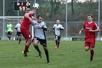 Česká fotbalová liga: TJ Jiskra Ústí nad Orlicí - SK Převýšov.
