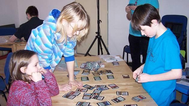 Z turnaje v karetní hře Dominion, který se konal v klubu Exit v Ústí nad Orlicí.