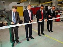 Otevření nové výrobní haly žamberského závodu firmy Bühler CZ.