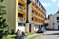 Domov důchodců v Ústí nad Orlicí.