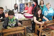 Prázdninové soustředění na Střední škole uměleckoprůmyslové v Ústí nad Orlicí.