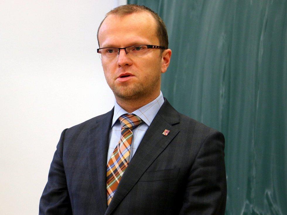 Hejtman Martin Netolický.