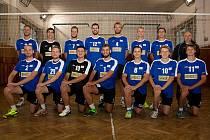 Volejbalisté Lanškrouna - A tým mužů postoupil do druhé ligy