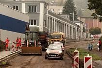 Rekonstrukce silnice Česká Třebová - Zhoř.