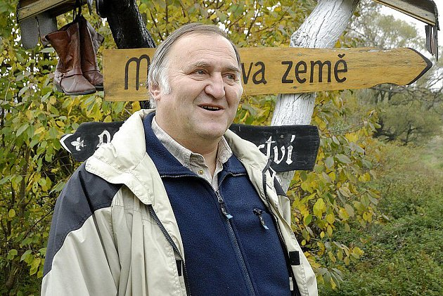 Odstupující starosta Přívratu Miroslav Veselý