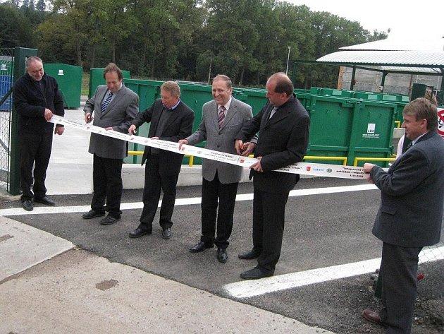 Sběrný dvůr a kompostárnu otevřeli v Letohradu.